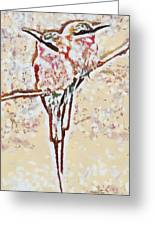Bird's Views Greeting Card