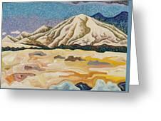 Birdseye Landscape #5 Greeting Card