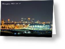 Birmingham Airport ,skyline Greeting Card