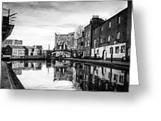 Birmingham Canal Greeting Card