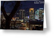 Birmingham Skies Greeting Card