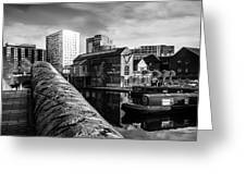 Birmingham Waterway Greeting Card