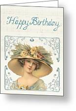 Birthday Lady Greeting Card