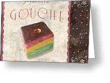 Biscuits Gouche Patisserie Greeting Card
