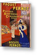 Biscuits Pernot Greeting Card