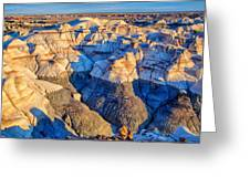 Bisti Badlands 10 Greeting Card