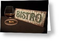 Bistro Still Life I Greeting Card