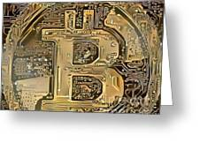 Bitcoin Greeting Card