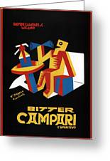 Bitter Campari - Aperitivo - Vintage Beer Advertising Poster Greeting Card