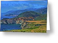 Bixby Bridge 1 Greeting Card
