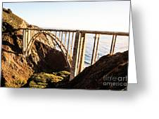 Bixby Bridge Greeting Card