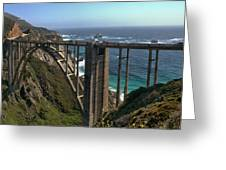 Bixby Creek Bridge 5 Greeting Card