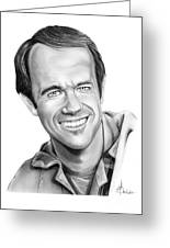 Bj-mike Farrell Greeting Card