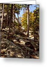 Blach Hills Terrain Greeting Card