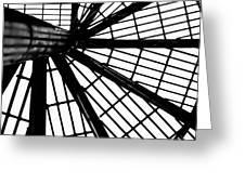 Black And White 4 Greeting Card