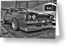 Black And White Capri In Hdr Greeting Card