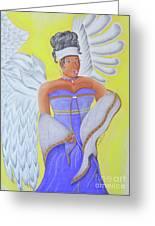 Black Angel Greeting Card
