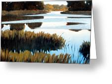 Black Bayou Greeting Card