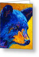 Black Bear Cub 2 Greeting Card