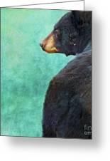 Black Bear's Bum Greeting Card