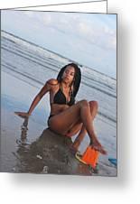 Black Bikinis 64 Greeting Card