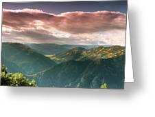 Black Canyon 2 Greeting Card