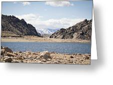 Black Canyon View - Pathfinder Reservoir - Wyoming Greeting Card