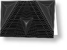Black Diamond Greeting Card