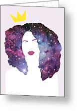 Black Girl Magic Sparkle Greeting Card