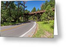 Black Hills Bridge 1 Greeting Card
