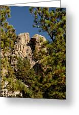 Black Hills Rock Feature Greeting Card