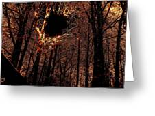 Black Hole Sun Greeting Card
