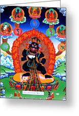 Black Jambhala  1 Greeting Card