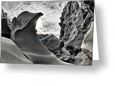 Black Magic Canyon Greeting Card