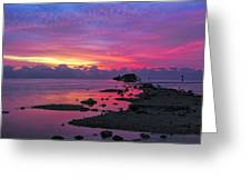 Black Point Greeting Card
