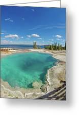Black Pool, Yellowstone Greeting Card