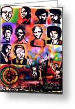 Black Revolution Greeting Card by Tony B Conscious