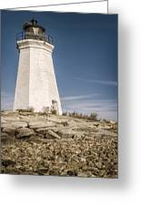 Black Rock Harbor Lighthouse II Greeting Card