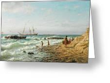 Black Sea Coast Greeting Card
