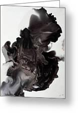 Black Smoke Greeting Card
