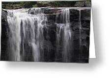 Black Water Falls Wv Greeting Card