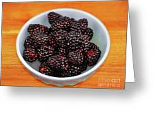 Blackberries 134 Greeting Card