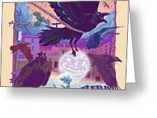 Blackbird 2 Greeting Card by Nelson Garcia