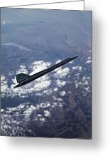 Blackbird Going Supersonic Greeting Card