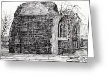 Blackfriars Chapel St Andrews Greeting Card