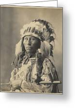 Blackheart Ogalalla Sioux Greeting Card