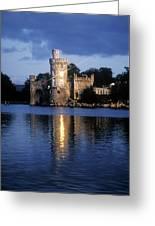 Blackrock Castle, River Lee, Near Cork Greeting Card