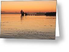 Blackrock Sunset Greeting Card