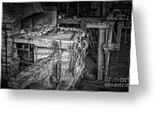 Blacksmith Bench Greeting Card