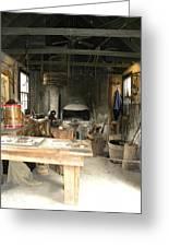 Blacksmith Greeting Card by Kim Zwick